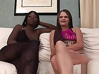 Two Slutty Bimbos Really Love Stripping