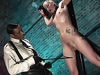 slave role and a BDSM are the favorite games for amazing Angel Long
