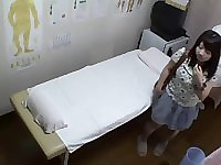 Chubby Japanese enjoys a hot erotic voyeur massage fun