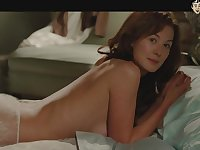 Lots of awesome nude scenes and bed scenes with sexy hottie Rosamund Pike