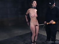 Amazing gagged and neck cuffed whore Paintoy Emma is BDSM whore